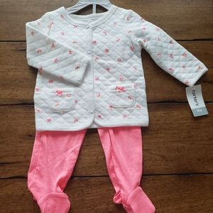 NWT Sweater and Footie